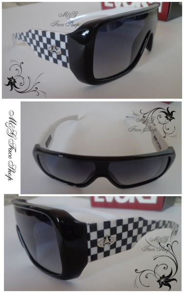 Óculos de sol-Evoke Amplifier preto branco qudriculado - Loja de ... eeb3159fb7